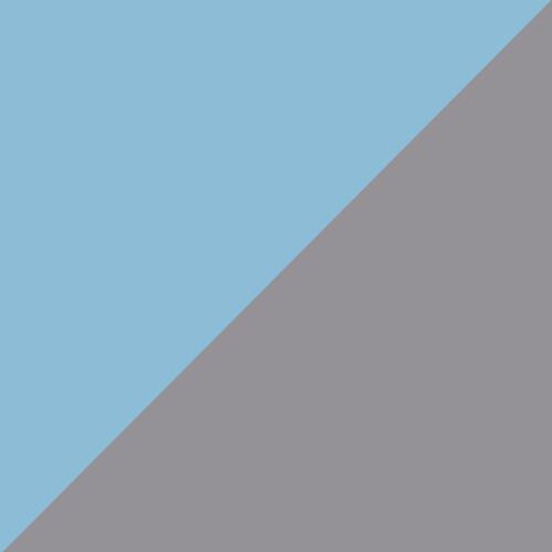 Błękitne/szare